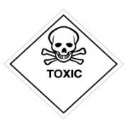 Hazard safety sign - Toxic 065